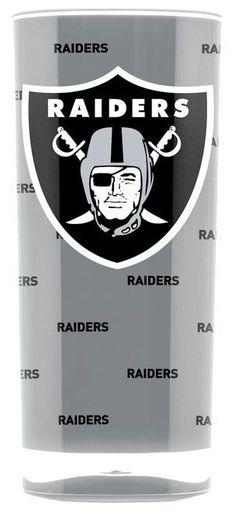 Oakland Raiders Tumbler - Square Insulated (16oz)