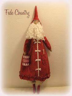 Babbo Natale Tilda