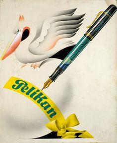 Vintage Pelikan Advertising