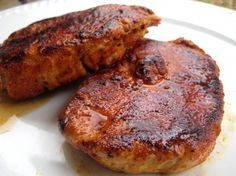 Cajun Pork Chops - This one was a winner with the husband. I make extra of the spice mix and keep it on hand for the next time.