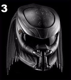 THE PREDATOR HELMET CUSTOM (HANDMADE) DOT APPROVED #Unbranded #Predator