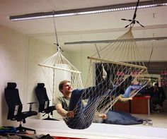 our office hammock