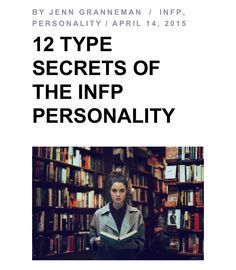 IM TRULY AN INFP