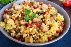 Egy finom Zöldséges kuszkusz csirkemellel ebédre vagy vacsorára? Zöldséges kuszkusz csirkemellel Receptek a Mindmegette.hu Recept gyűjteményében!