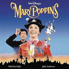 Mary Poppins is a fun and well recognized musical films by Walt Disney. The soundtrack to Mary Poppins sounds great on vinyl. Film Musical, Film Music Books, Film Disney, Disney Movies, Disney Karaoke, Punk Disney, Disney Music, Disney Characters, Mary Poppins Film