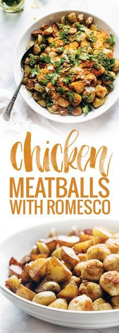 Mini Chicken Meatballs - super easy recipe made with chicken ...