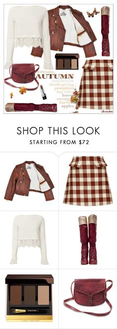 """Welcome Autumn"" by ultracake ❤ liked on Polyvore featuring Marni, 3.1 Phillip Lim, Chanel, Tom Ford, Boots, plaid, autumn, fashiontrend and ultracake"