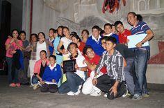 Rondalla Cruz Azul 1er. lugar categoria infantil Concurso Nacional de Rondallas. Xalapa, Ver.
