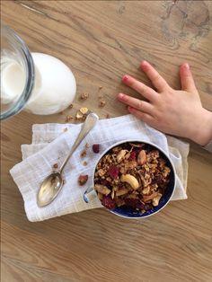 Beautiful Cinnamon Buckwheat Granola - Sarah Graham Food