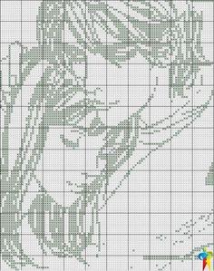 Cross Stitch World: Cross stitch. COUPLE (monochrome) Mars