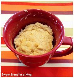 Sweet Bread in a Mug