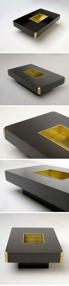 Willy Rizzo Coffee table. circa 70