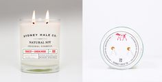 Reuse & Recycle: A New Life for Glass Candles   Hello!