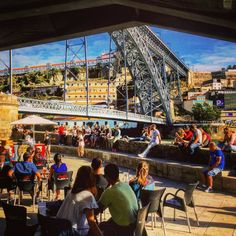 Tea time in #Porto #Portugal / #city #cityview #architecture #teatime