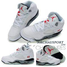Nike Air Jordan 5 | Classique Chaussure De Basket Homme Air Jordan 5 Chaussure De Basket Homme/Bleu