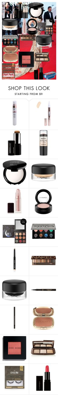 AISHWARYA RAI BACHCHAN Cannes Film Festival Makeup by oroartye-1 on Polyvore featuring beauty, Hourglass Cosmetics, Urban Decay, MAKE UP FOR EVER, Kevyn Aucoin, Dermablend, Dolce&Gabbana, Bobbi Brown Cosmetics, MAC Cosmetics and Illamasqua