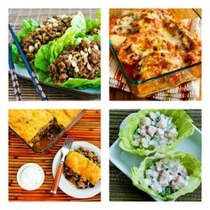 South Beach Diet Phase One Recipes Round-Up from January 2013 (For anyone who wants #LowGlycemic or #LowCarb recipes for health, weight loss, or blood sugar control, these monthly round-ups have a lot of great finds!) [from Kalyn's Kitchen and other food blogs]