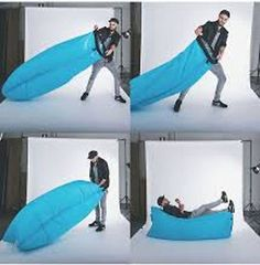 Layzeebag Lounger. Inflatable furniture for summer.