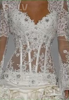 """corset wedding gown  follow my """"Let's get married"""" board!!!"""