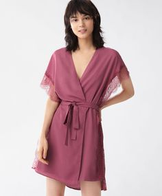 25204f81e6 Lingerie dressing gown - House Robe - SLEEP