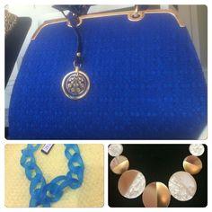 Style Royal Blue, Pendant Necklace, My Style, Jewelry, Fashion, Moda, Jewlery, Jewerly, Fashion Styles