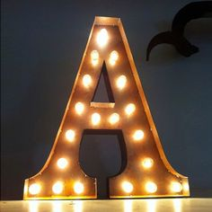 """A"" Marquee Light"