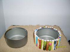 Manualidades con latas de refrescos