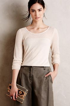 East River Pullover #anthropologie