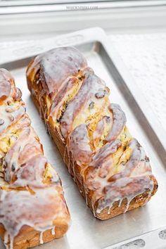 łyżeczki soli 10 g suchych drożdży lub 20 g Healthy Dessert Recipes, Baking Recipes, Delicious Desserts, Cake Recipes, Yummy Food, Polish Desserts, Cranberry Recipes, Cranberry Bread, Bread Cake