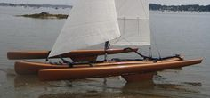 Sailing kayak / sea / trimaran LWTANDEM Warren Light Craft