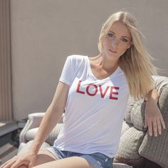 Make a style statement with our incredible Peace Sign Shirts. Check out the new peace sign shirt from thousands of great patterns. Shop right now! John Lennon, Love Clothing, Love T Shirt, Lady V, Portrait, Cool Shirts, V Neck T Shirt, Street Wear, Feminine