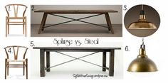 "Just in time for Thanksgiving, blogger Nicole Kennedy is saving you money with some great ""steals"" on a dining room from Wicker Emporium."