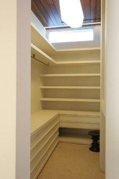 Master Closet Modern Closet