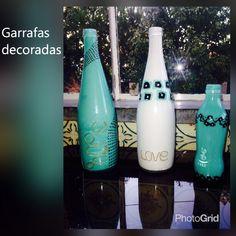 #Garrafasdecoradas