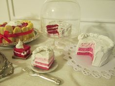 New cake & pastry table | Flickr - Photo Sharing!