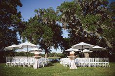 Chic Meets Rustic Wedding in Charleston on Borrowed & Blue.  Photo Credit: Amelia + Dan