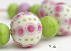 Handmade Lampwork Glass Beads | eBay