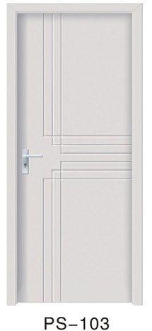 Соединение интерьер комнаты массива дерева краска двери белый 1002 купить на AliExpress