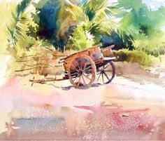 Milind Mulick WATERCOLOR | Watercolor: Autos and Other Forms of Tra…