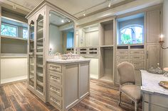 COTE DE TEXAS - master bedroom closet. I have the marble, just need to build the rest?