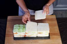 """Diaporama """"Le pain-surprise c'est HAS BEEN ! Place au SANDWICH CAKE"""" - Réalisez des couches"""
