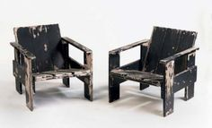 rietveld crate chairs