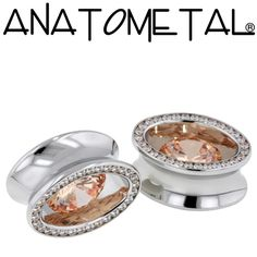 - Super Ellipse Eyelets - ANATOMETAL - Professional Grade Body Piercing Jewelry