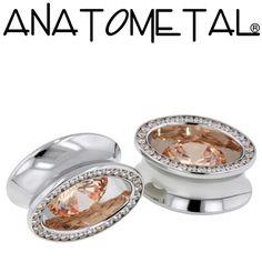 - Super Ellipse Eyelets - ANATOMETAL - Professional Grade Body Piercing Jewelry