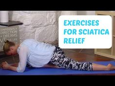 3 Magic Exercises for Sciatica Relief - YouTube