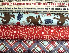 modern cowboy fabric - Google Search