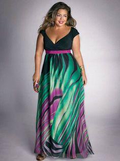 IGIGI-Plus-Size-Summer-Rainforest-Paradise-Maxi-Dress-1.jpg 610×820 pixels