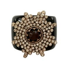 Chanel 1960 | CHANEL/GRIPPOIX Cuff ca.1960 at 1stdibs