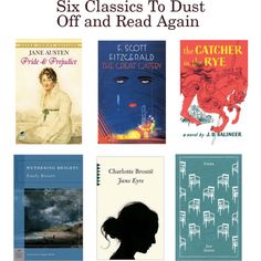Six Classics To Dust Off and Read Again