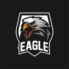 Eagle falcon esport gaming mascot logo t. Eagle Mascot, Eagle Logo, Logo Animal, Photos Hd, Soccer Logo, Game Logo Design, Esports Logo, Mascot Design, Vector Freepik
